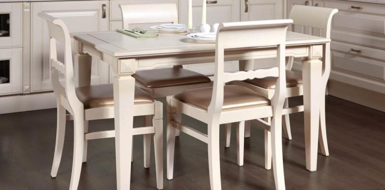 Модельный ряд столов и стульев из массива дуба